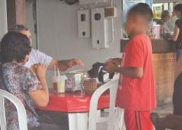 Como ajudar crianças que pedem dinheiro em mesas de bares/lanchonetes/ semáforos?