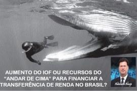 """AUMENTO DO IOF OU RECURSOS DO """"ANDAR DE CIMA"""" PARA FINANCIAR A TRANSFERÊNCIA DE RENDA NO BRASIL?"""