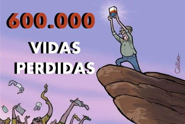 Brasil chega a 600 mil mortes por Covid-19